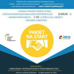"""Polecamy udział w projekcie """"Pakiet na start"""""""