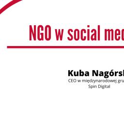 NGO w Social Media. Ambasadorowie organizacji – webinarium w dniu 1 kwietnia.