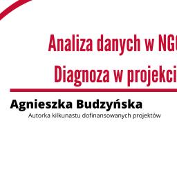 Analiza danych w NGO. Diagnoza w projekcie – zaproszenie na webinarium w dniu 6 kwietnia