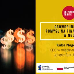 Crowdfunding. Pomysł na finansowanie w NGO – webinarium w dniu 5 maja 2020 r.