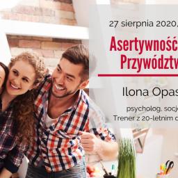 Zaproszenie na szkolenie: Asertywność w zespole. Przywództwo w NGO – 27 sierpnia 2020 r.