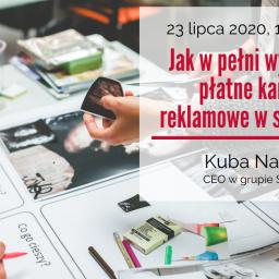 """Zaproszenie na szkolenie pt.: """"Jak w pełni wykorzystać płatne kampanie reklamowe na Facebooku"""" – 23 lipca 2020 r."""