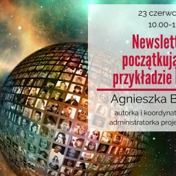 Newsletter dla początkujących na przykładzie MailerLite – zaproszenie na webinarium 23 czerwca